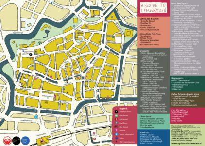 Maps of Leeuwarden A Guide to Leeuwarden