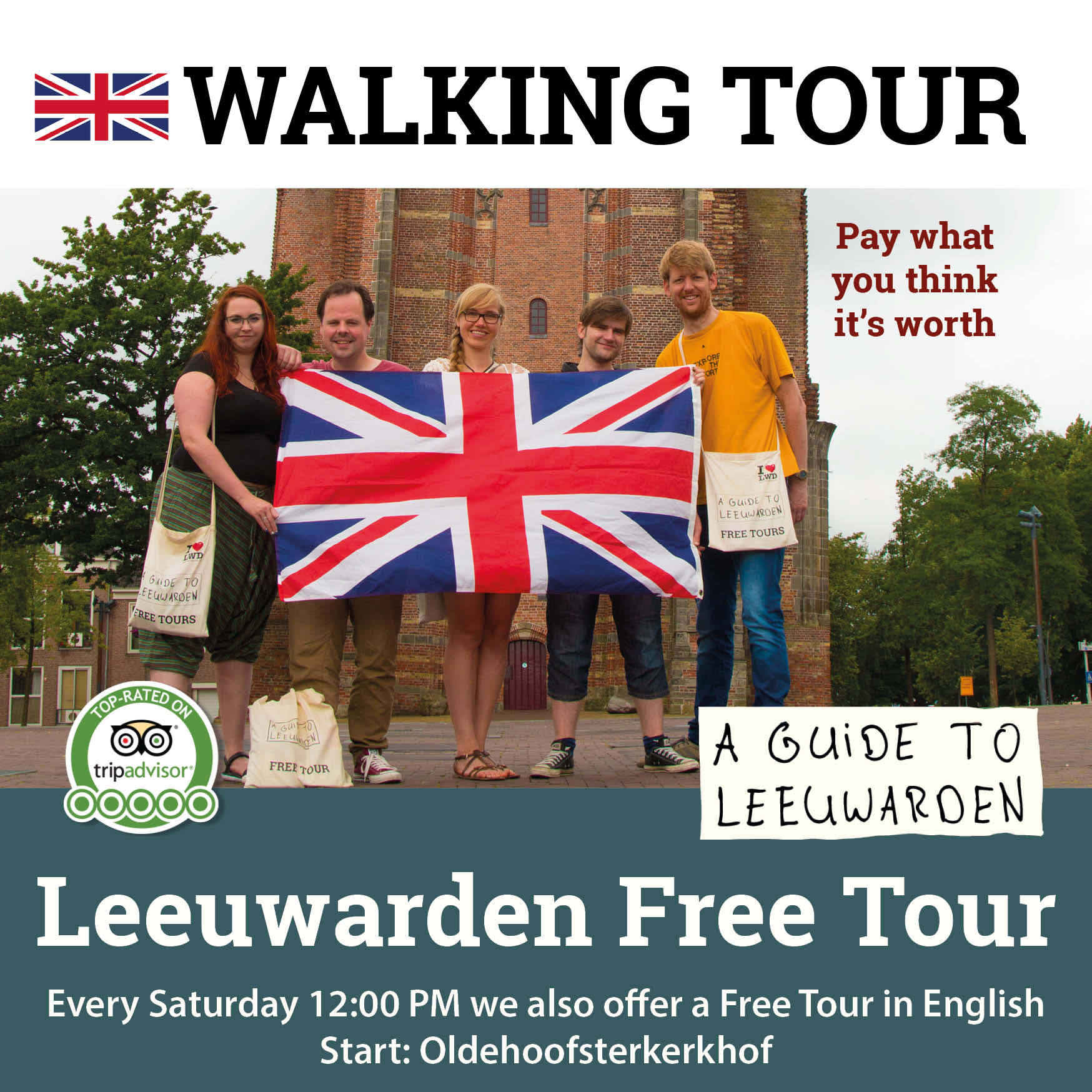 Leeuwarden Free Tour in English