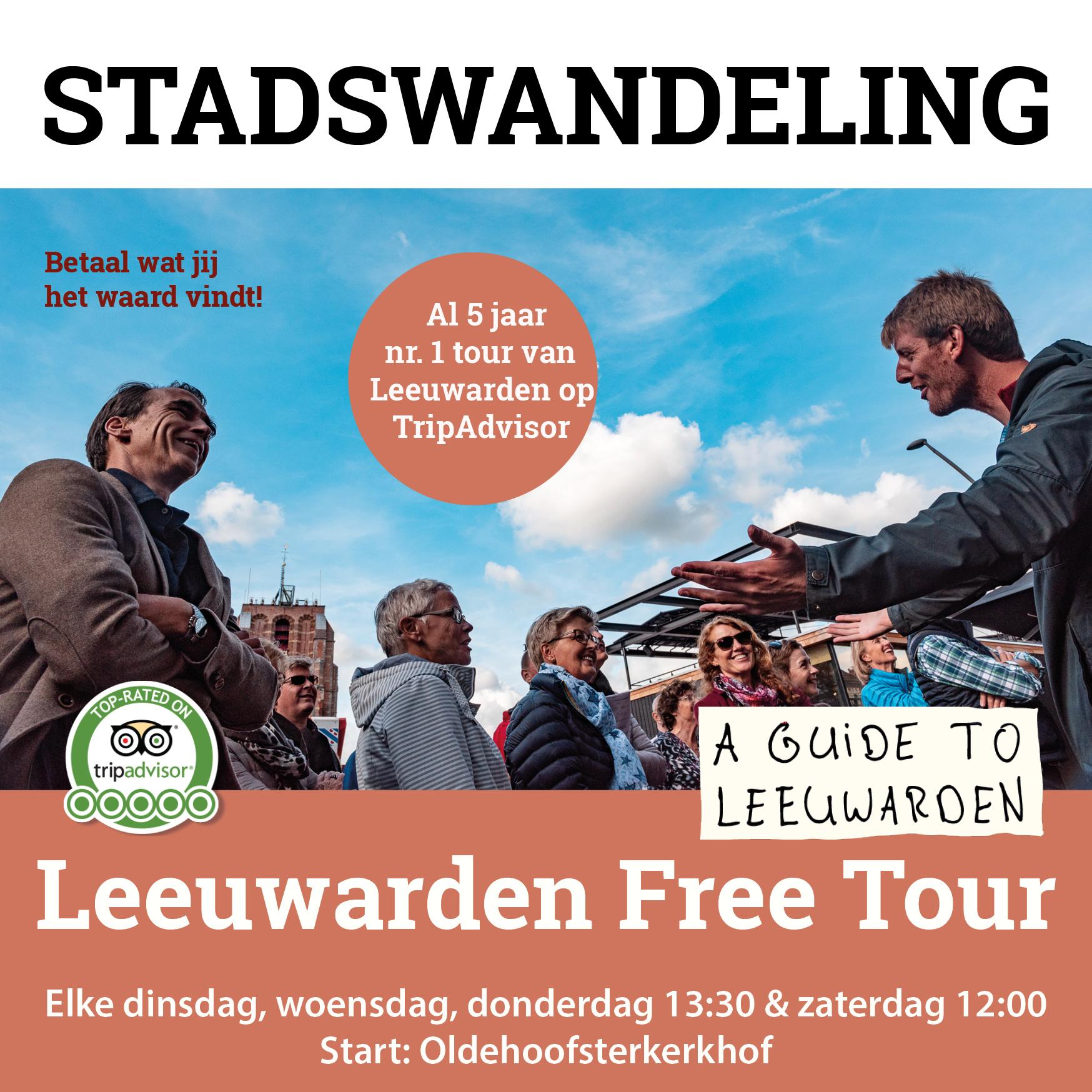 Leeuwarden Free Tour (NL)
