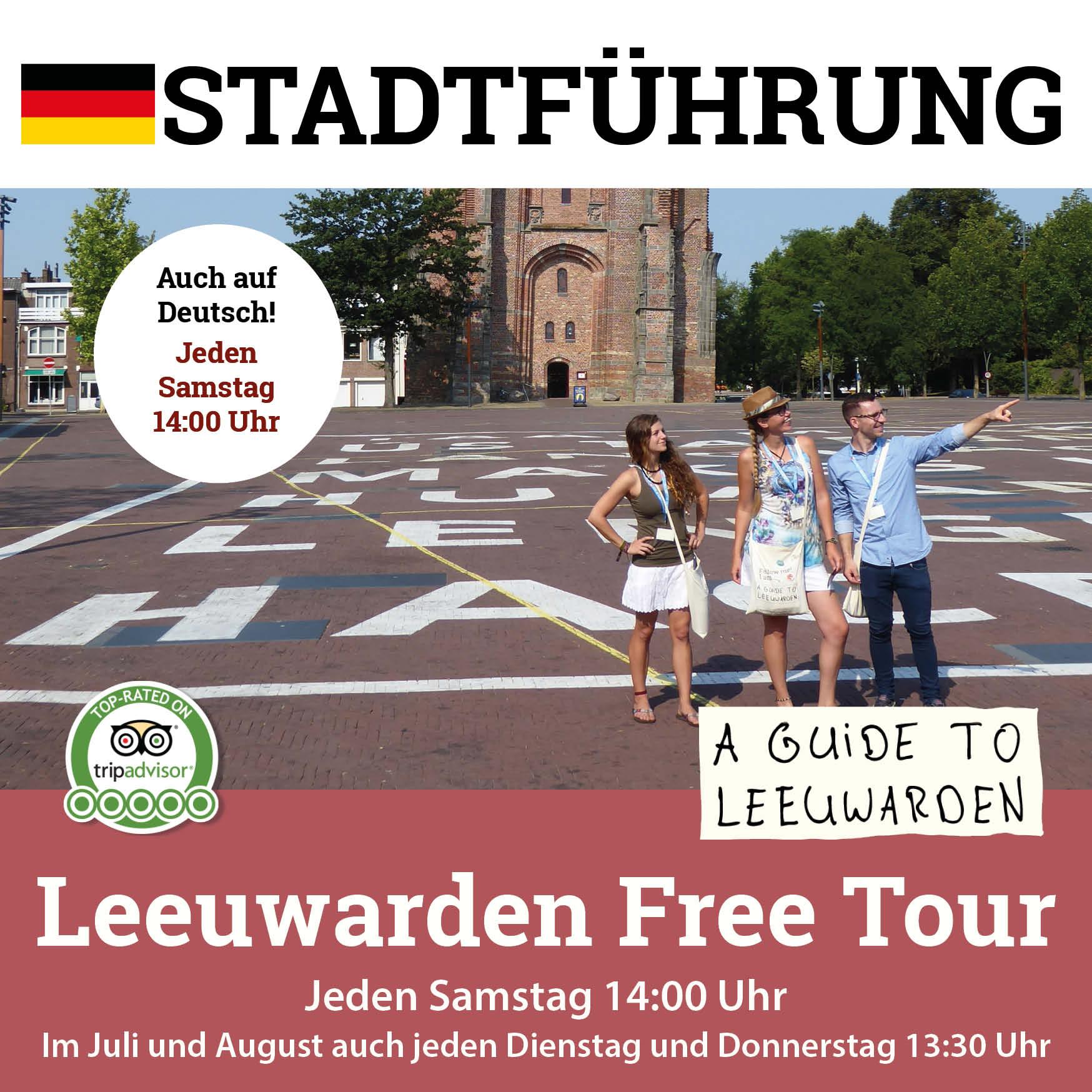 Leeuwarden Free Tour auf Deutsch